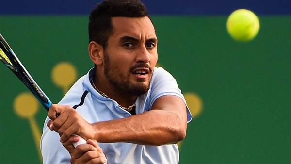 Kyrgios defends controversial walk off