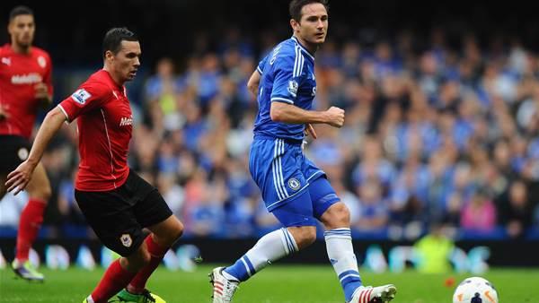 Lampard hails Oscar as Chelsea crush Cardiff