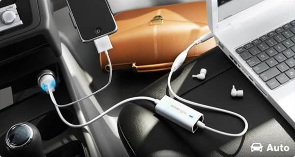 Handy gadget: A laptop charger for the car