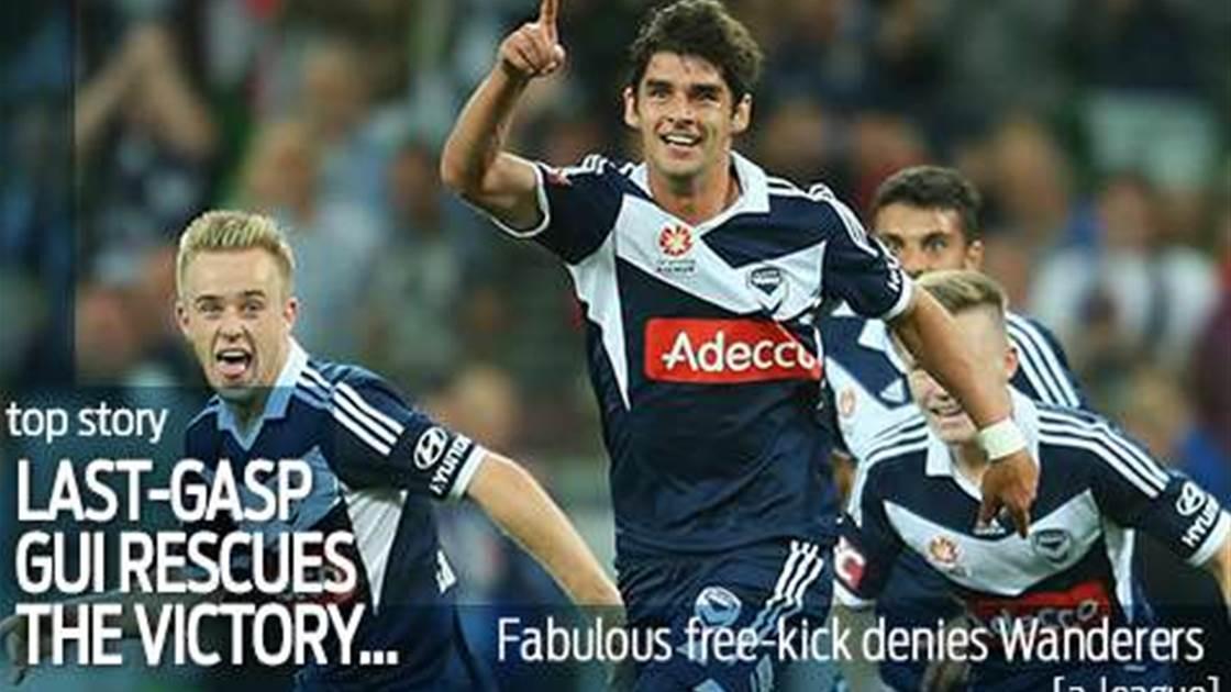 Fab Finkler free-kick stuns Wanderers