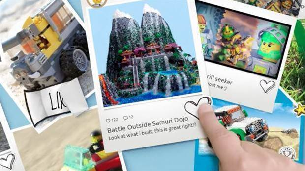 Lego joins the Instagram generation with Lego Life