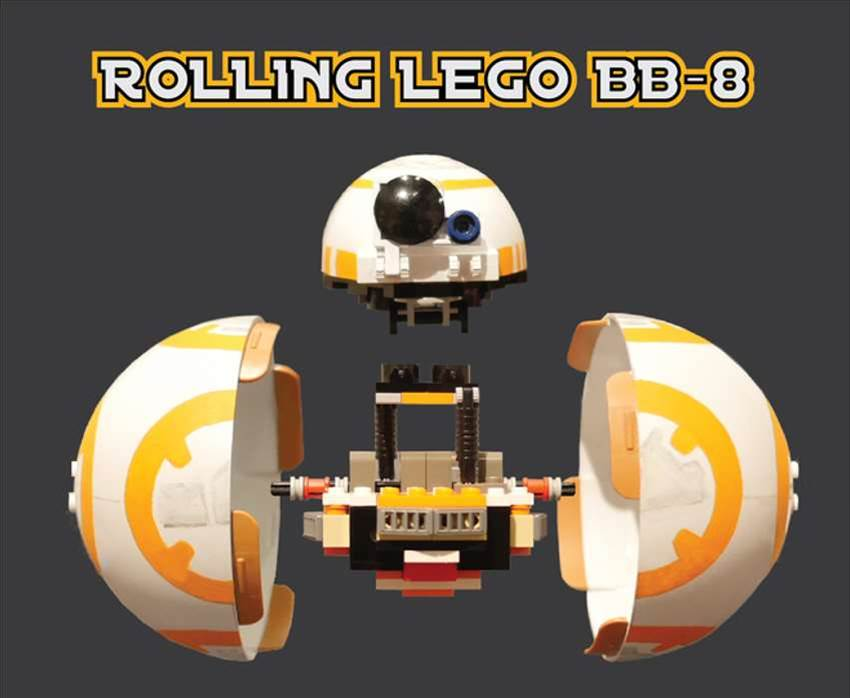 Behold, A BB-8 Made Of LEGO