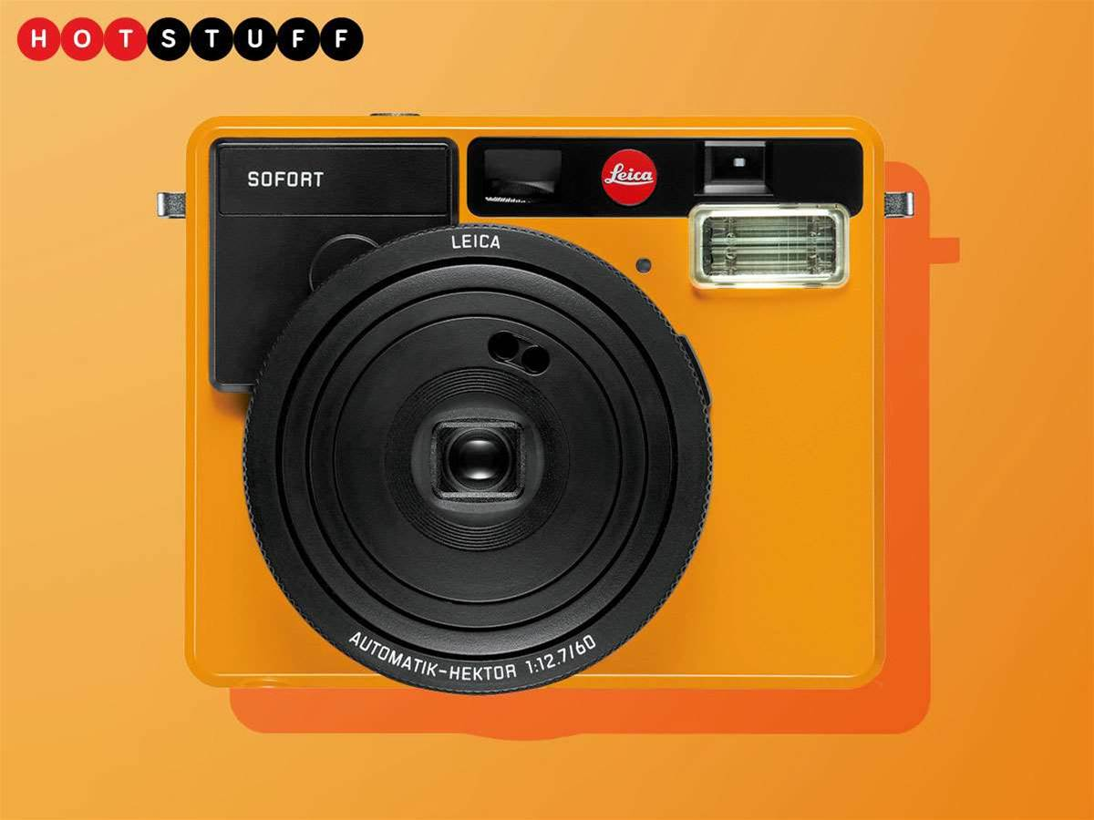 Leica gets fun and footloose with Sofort instant camera