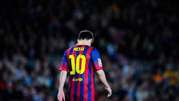 Messi ruled out for up to eight weeks