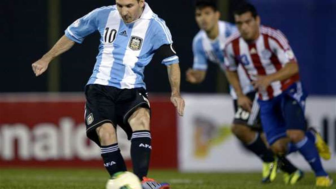 World Cup Qualifying: Argentina book Brazil place against