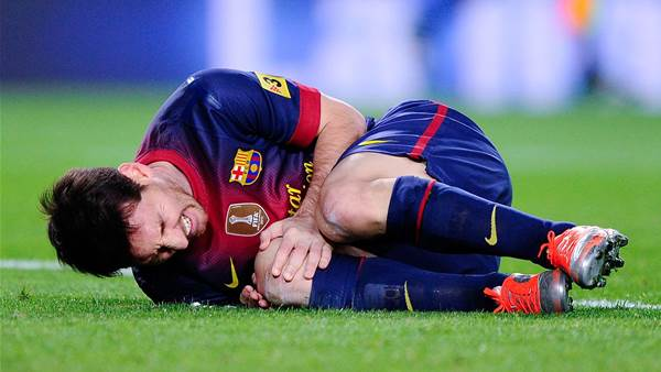 Messi's hamstring injury avoidable