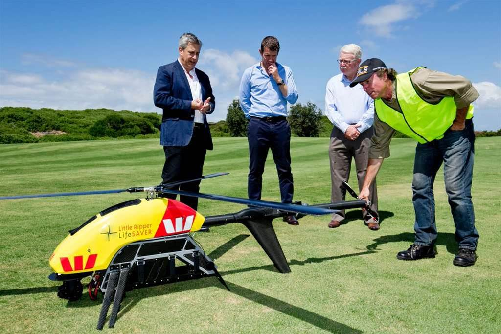 Shark-spotting drones to patrol NSW beaches