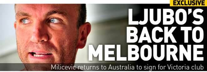 Ljubo Back To Sign For Melbourne