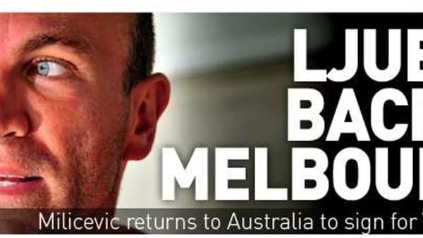 Ljubo Back To Sign For Melbourne