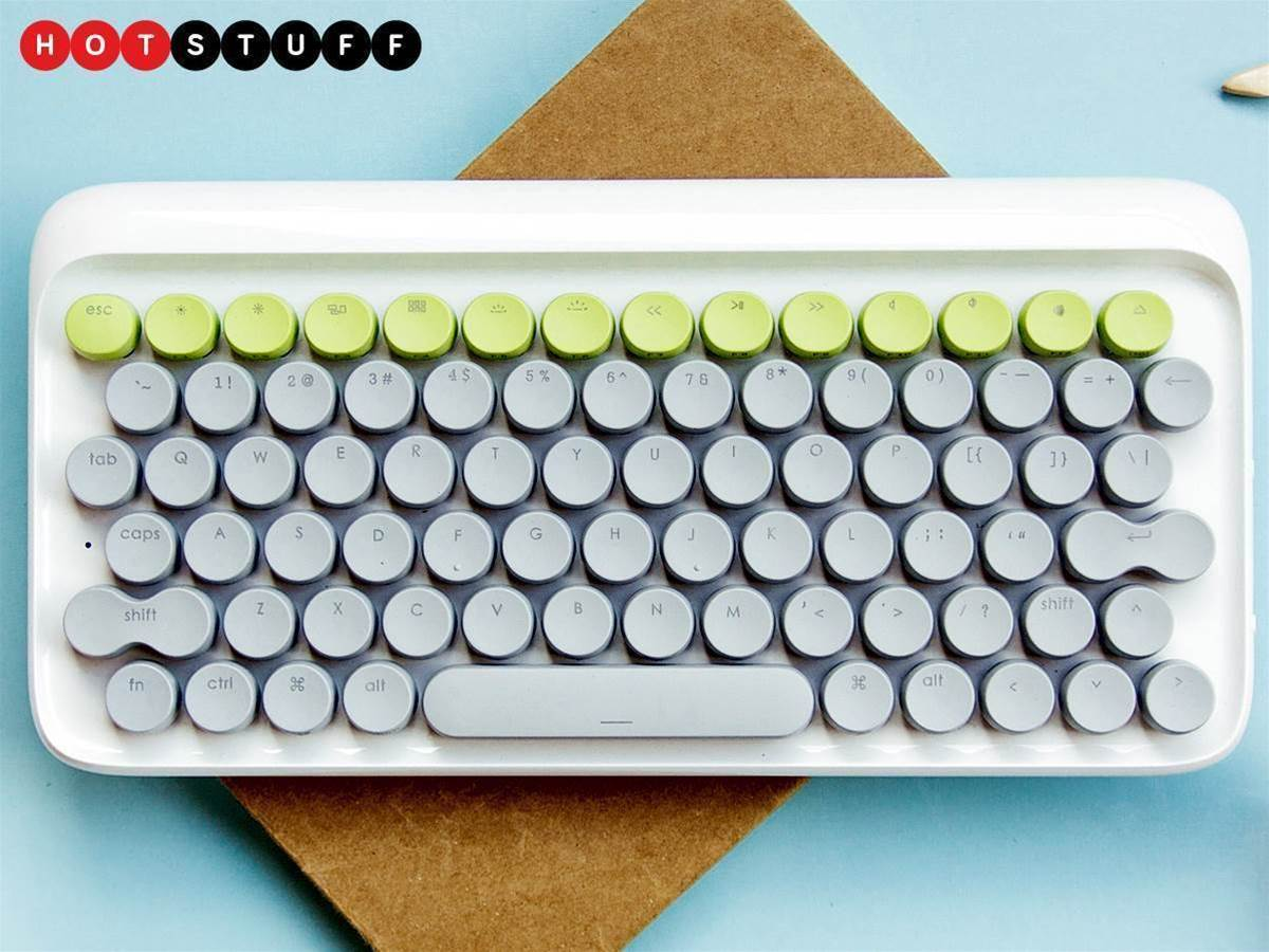 Lofree is a mechanical keyboard for design lovers