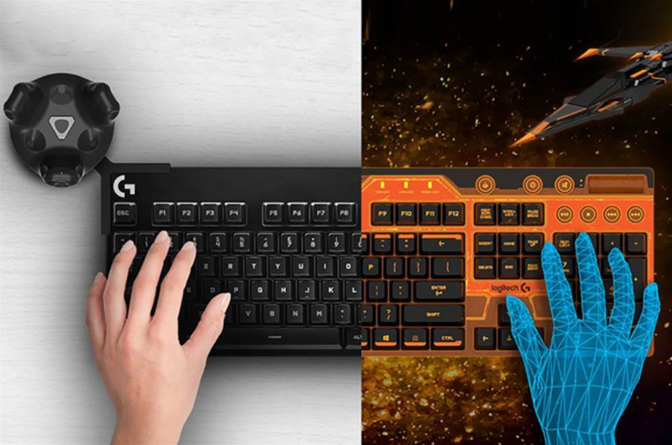Logitech's ingenious new keyboard is useable in VR