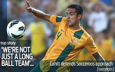 Cahill: Long ball tag 'unfair'