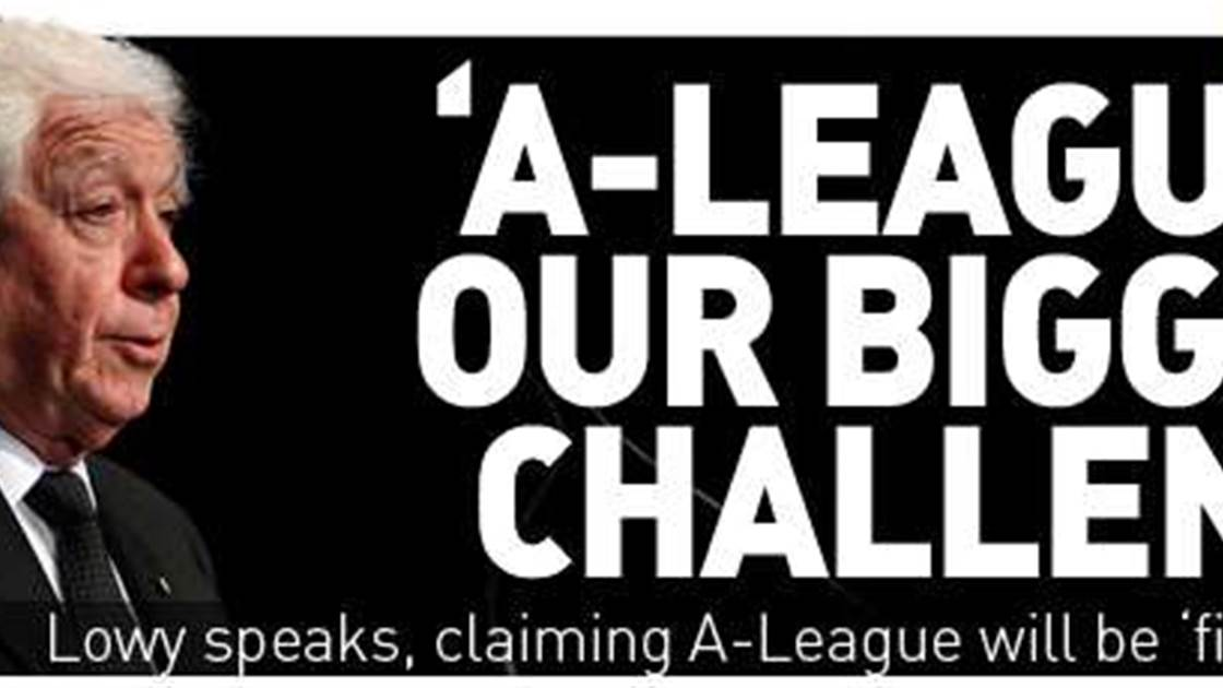 A-League Our Big Challenge - Lowy