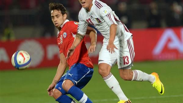 WC qualifying: Venezuela 1 Paraguay 1