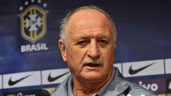 Scolari delighted with Brazil display