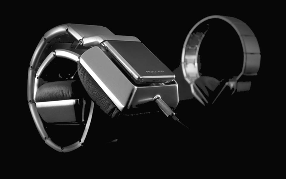 Luzli Roller MK01 headphones have portability all wrapped up
