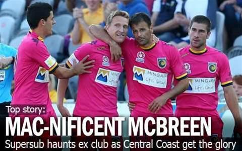 Supersub McBreen Haunts Old Club