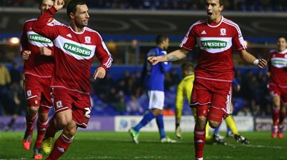 McDonald on target in Middlesbrough loss