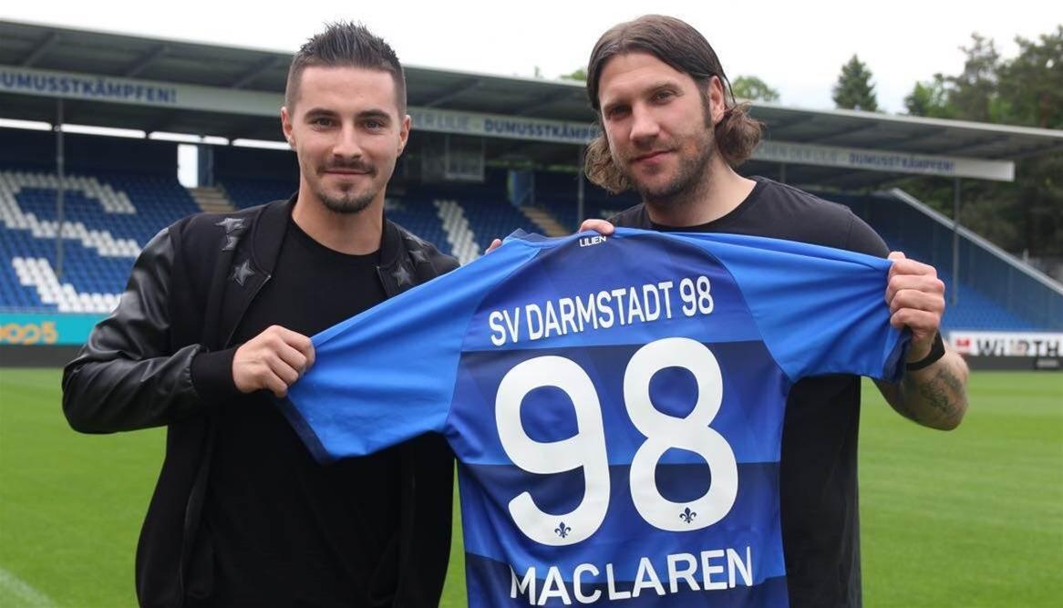 Maclaren pens three-year German deal