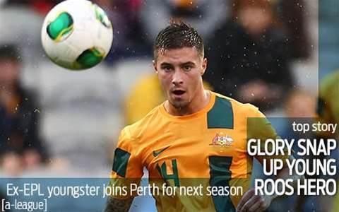 Glory snare Young Roo hero Jamie Maclaren