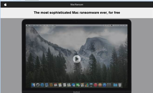 Highly sophisticated malware targeting Mac users