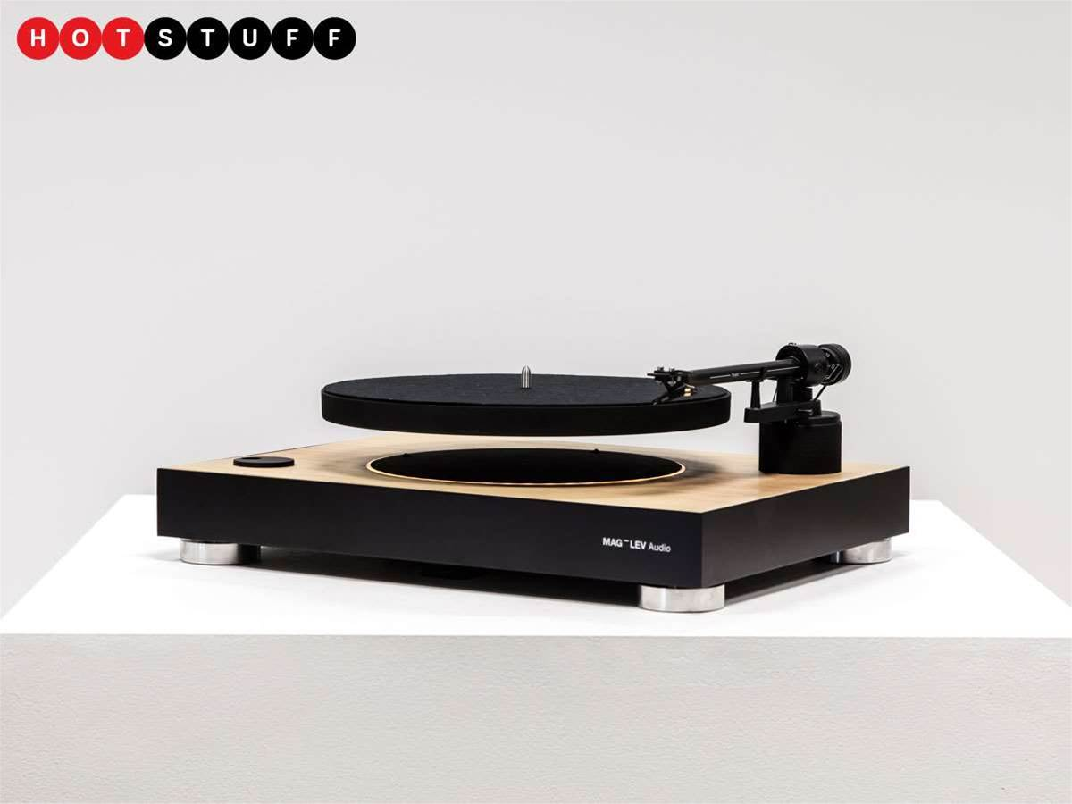 Mag Lev is the zero gravity turntable of your sci-fi dreams