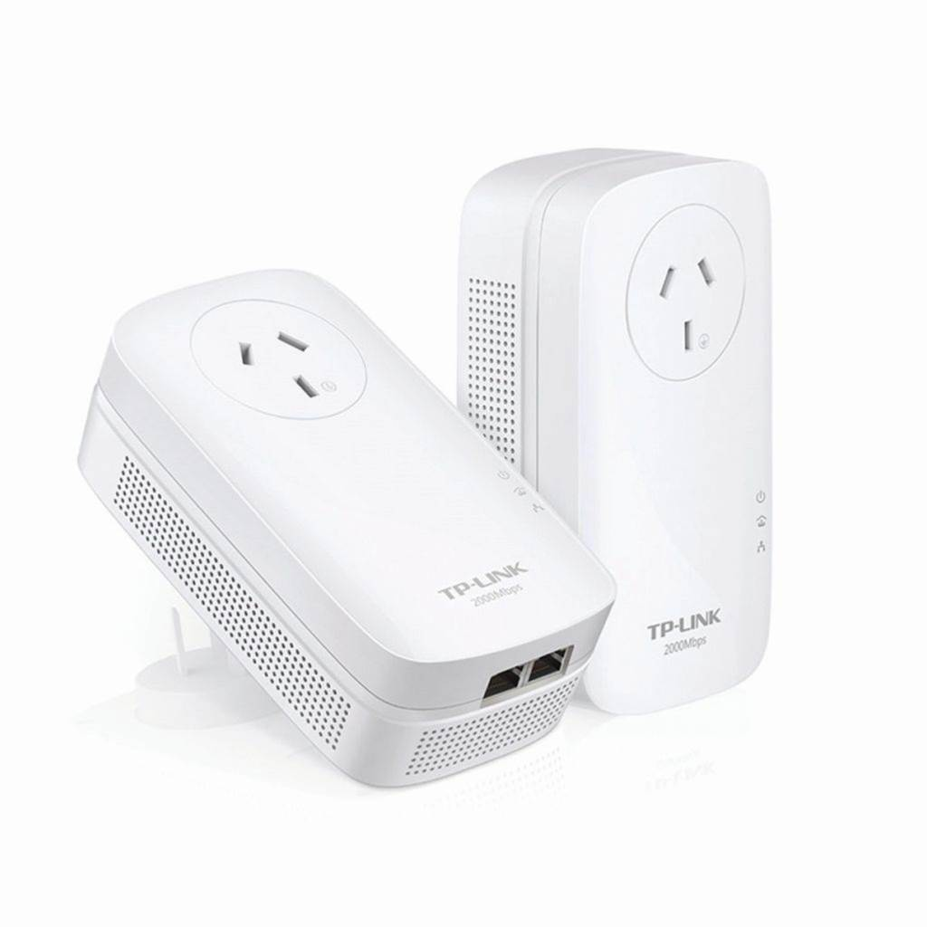 Review: TP-Link TL-PA9020P AV2000 2-port Gigabyte EOP kit
