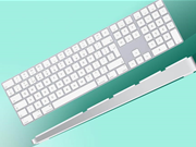 Apple's new Magic Keyboard is a wireless wedge of numeric loveliness