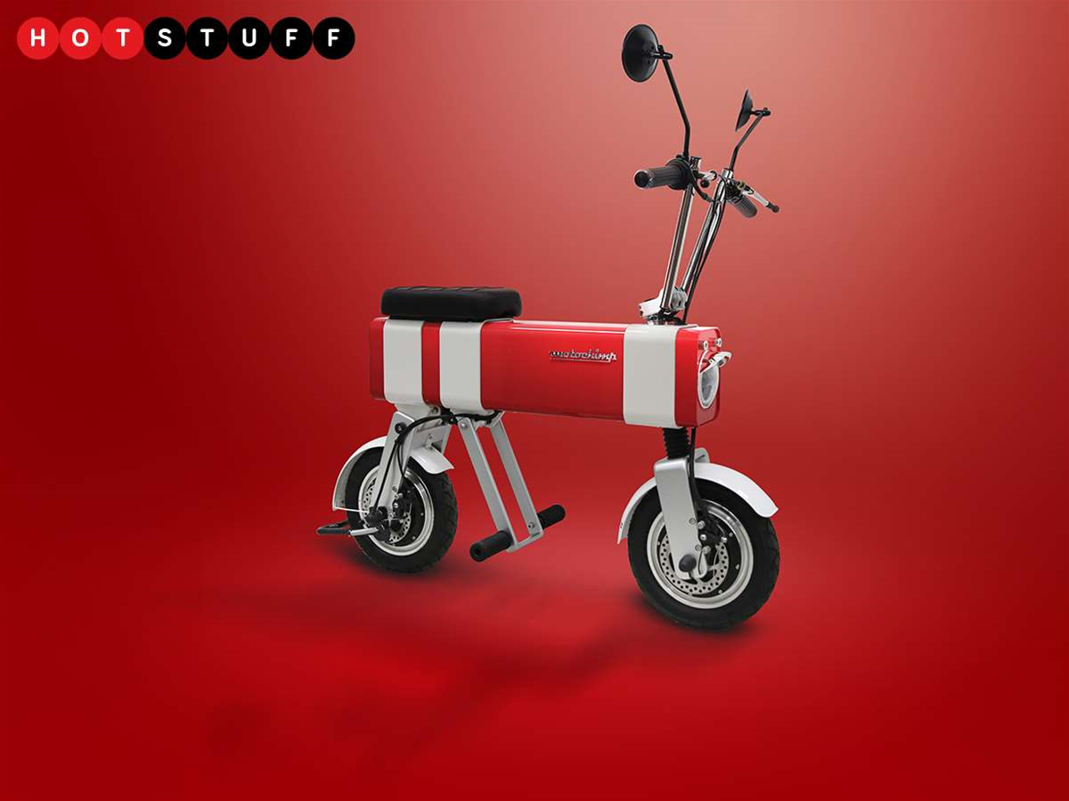 The electric monkey bike of your dreams is here