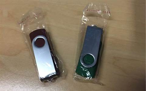 Malware-laden USB drives found in Victorian letterboxes