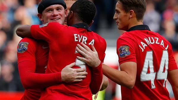 Rooney: United let Moyes down