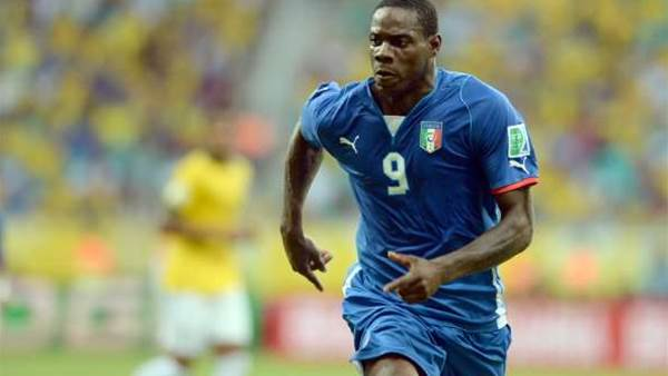 Balotelli out of Confederations Cup
