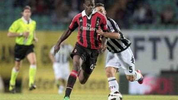 Galliani: Balotelli is untransferable
