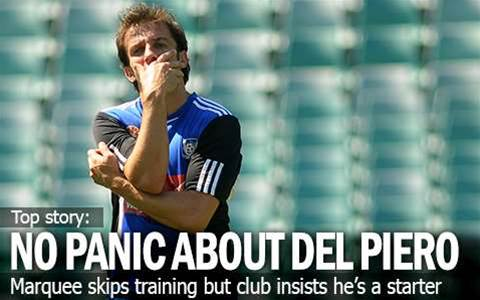 No Panic About Del Piero