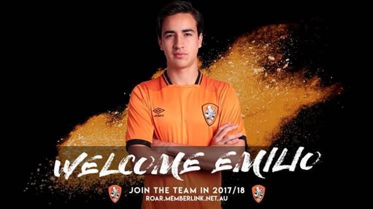 Brisbane Roar promote Emilio Martinez