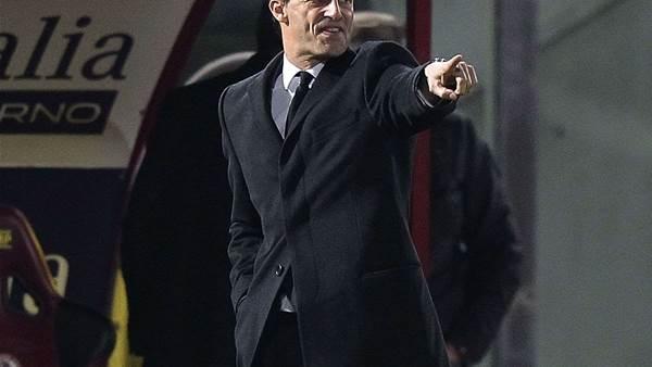 Allegri blasts Milan after Livorno draw
