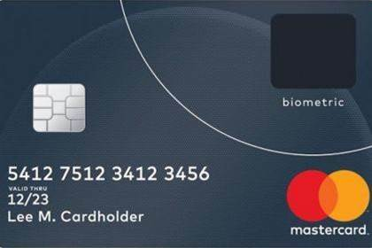 Mastercard makes a credit card with a built-in fingerprint sensor