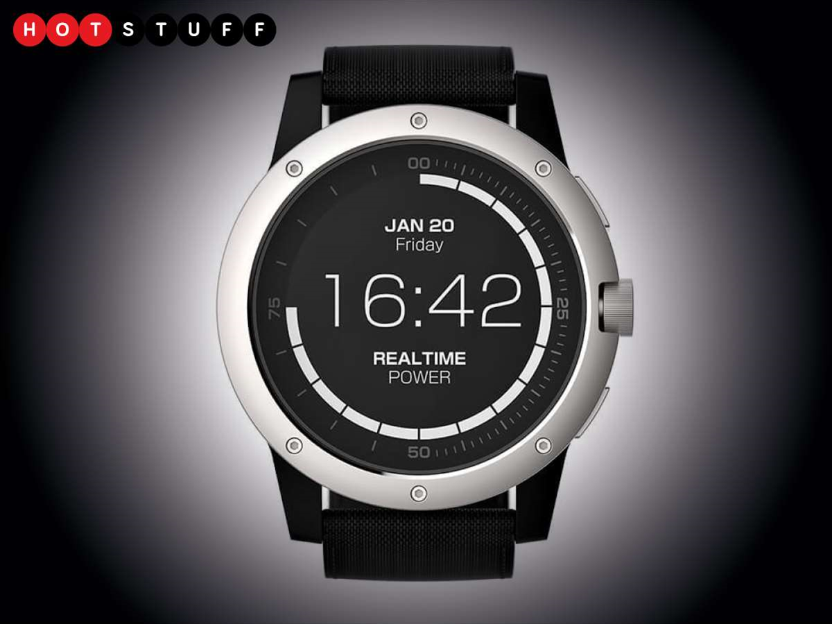 Finally, a smartwatch you never need to charge
