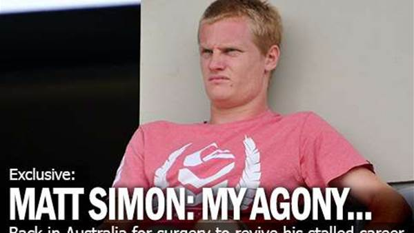 Matt Simon: My Agony
