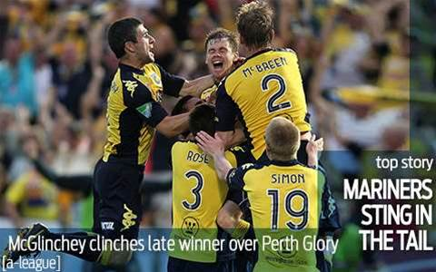 Mariners sting in the tail for Glory