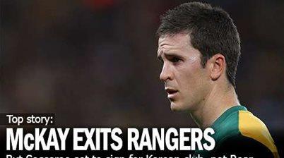 Matt McKay Exits Rangers For Korea