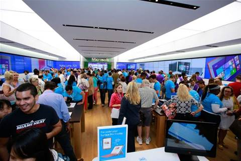 Microsoft to open Sydney store next month
