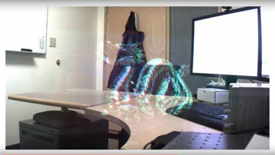 Microsoft has built a holographic display for your glasses