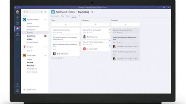 Microsoft Teams launches to change workplace communication