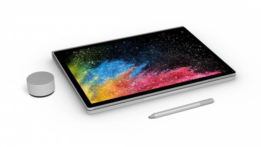 Microsoft launches Surface Book 2