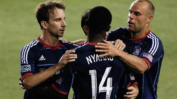 MLS Wrap: Fire close in on playoff spot