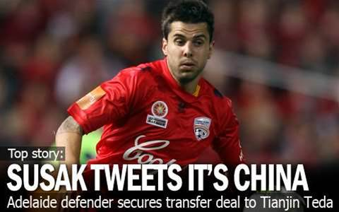 Susak Swaps Adelaide For China
