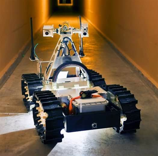 Sandia's Gemini-Scout: A Rescue Robot Optimized for Mining Disasters