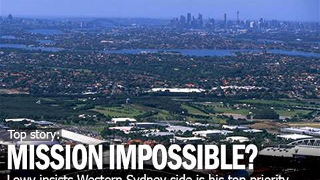 Frank Lowy's Mission Impossible?